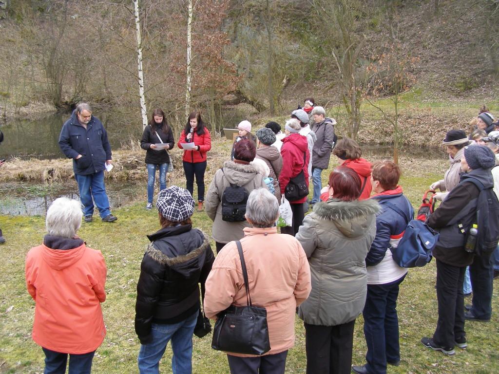 Přednáška pro návštěvníky spojená s rozborem vody z jezírek