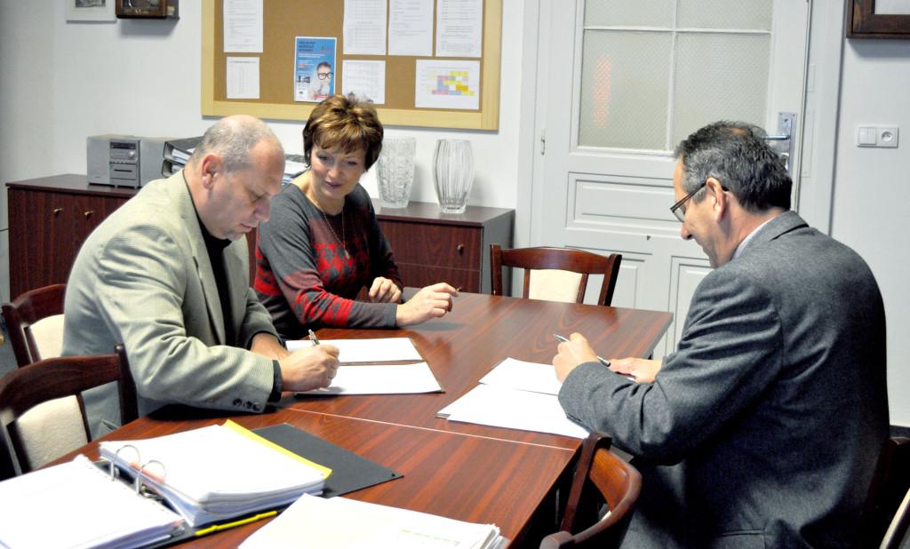Dohoda o spolupráci s táborským gymnáziem